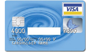 Sample Credit Card Front